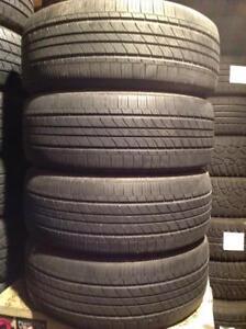 4 pneus d'été 205/55 r16 Michelin mxv4.  130$