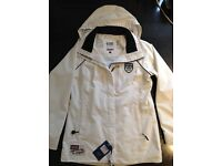Crew Clothing GBR Spray Jacket in White. RRP £135.00