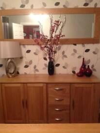 Solid Oak 'Galway' Sideboard (Oak Furniture Land)