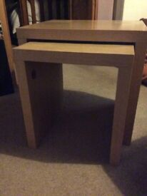 Nest of 2 Tables.