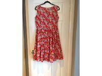 Floral dress size 16