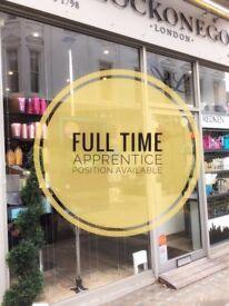 Full Time Hair Salon Apprentice
