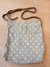 Cath Kidston large Messenger/Cross Body Shoulder Bag with leather strap