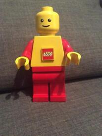 Lego man torch