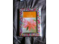 Sparkling crystal encrusted photo frames to make any picture look beautifull.