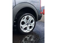 Ford alloy wheels 5x108 transit connect