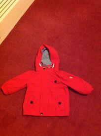 Next Rain Coat Age 9-12 months