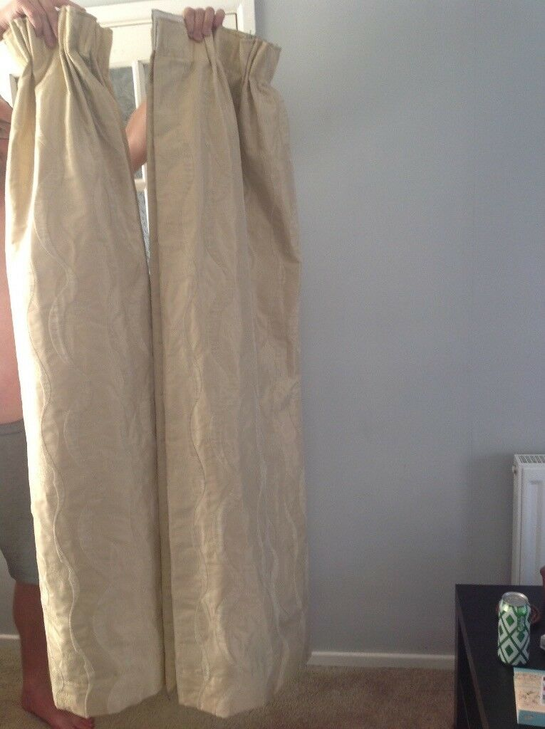 2 pairs of curtains - very good quality