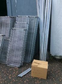 Metro Stainless Steel shelving ex shop display. Used in commercial kitchens etc.