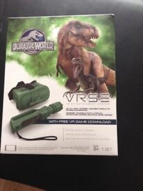 Jurassic world virtual reality game