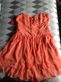 Woman's Orange 'Love Label' Dress