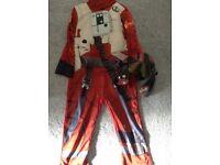 Star Wars X Fighter fancy dress 3-4 years