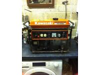 Kawasaki Silent Suitcase Generator.