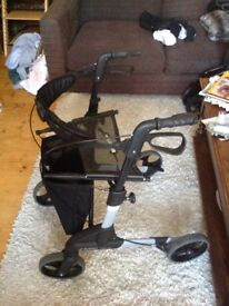 Fold Up Zimmer frame for sale ,good condition Can Deliver, Cost over £200. New Selling for £50.