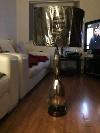 Two table lamps ,one small one and one large