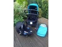 Urbo2 Pram with Car Seat and Extras