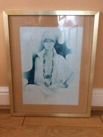 Framed boudoir prints