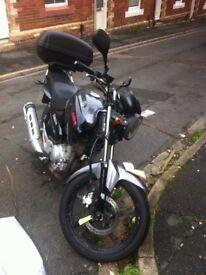 Yamaha YBR 125 12 Months MOT New Back Tyre and New Break Pads