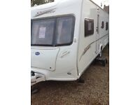 Bailey senator Indiana 2006 4 berth fixed bed