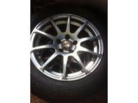 Alloy wheels (audi, wv, skoda, seat)