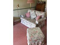 Free - 2 sofas + footstool