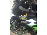Kawasaki racing bike ZX 10 r