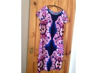 Ladies pink and mauve dress NEW