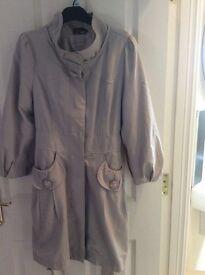 Grey yumi occasion Coat
