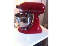 Kitchen Aid cake mixer