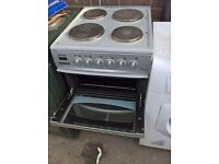Silver Electric cooker 50cm...Cheap Free delivery