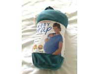 Moby baby sling wrap carrier Teal colour