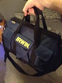 Irwin tool carrier with tools
