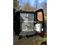 FOUR AGILITY SPORT SHOW WORKING DOG CAGES TO FIT TRANSIT TYPE VAN - AWESOME CUSTOM QUALITY!