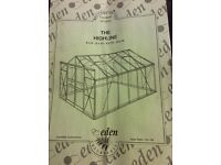 Eden The Highline greenhouse. Has been dismantled after house move and now don't need it. Size 8x8