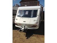 Elddis Gt cyclone 1998 5 berth double dinet