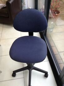 Child's Swivel Desk Chair with arms - good condition