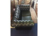 Two Chesterfield sofa's