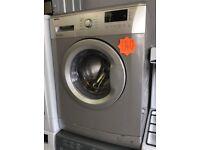BEKO WMB61431S 6kg 1400spin Silver Washing Machine with 4 MONTHS WARRANTY