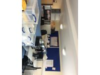 Two double desk space areas to LET in quiet converted office in Spencers Wood