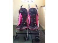 Double buggy,excellent condition .