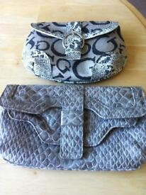 2 lovely bags Gucci look like and Principles mock croc