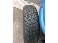 Citroen c3 wheel and tyre 165/70/14