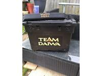 Team daiwa seat fishing box