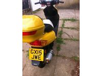 Lovely nearly new DirectBike, very low Mileage, start and drive perfectly, 2.80 tab for one year.