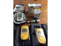 Diabetic testing kits and accessories Blood glucose machine meters x3 Quality MEDICAL Brand