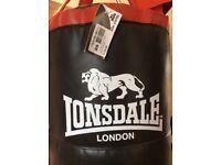 Lonsdale Punch Bag unused