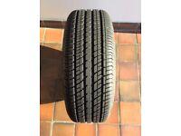 New Dunlop tyre