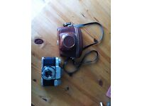 Zeiss Ikon Contaflex II Camera, Single Lens Reflex, Tessar 45mm f:2.8, 4 Films