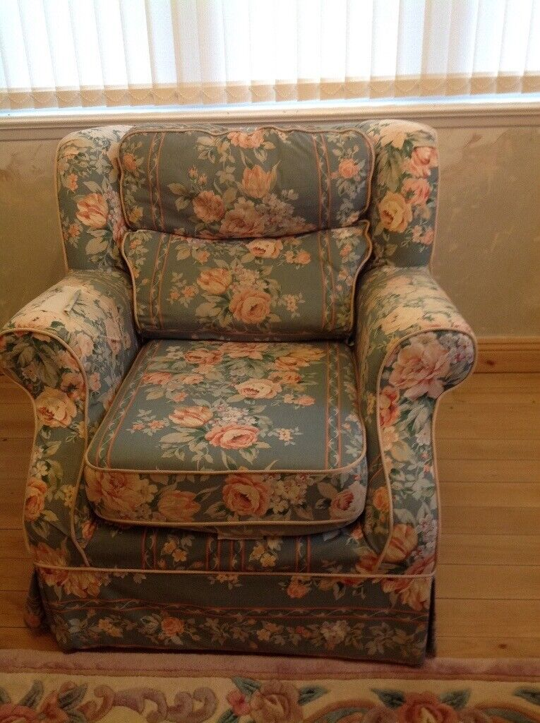 Armchair For Recovering Upholstery Project In Dumfries