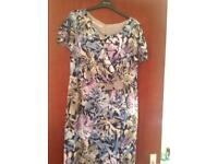 Blue and lilac formal dress size 16